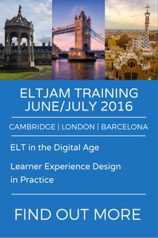 ELTjam training - June/July 2016 - Find out more