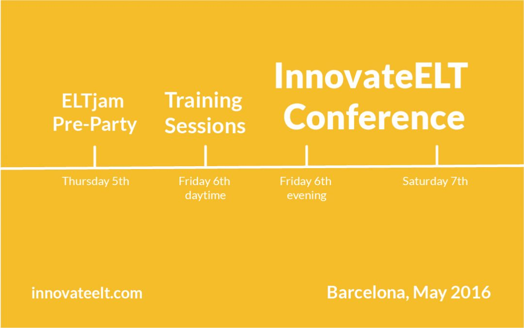 Looking back at IATEFL and forward to Innovate ELT