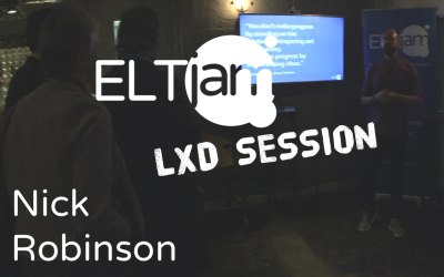 ELTjam LXD Session: Nick Robinson