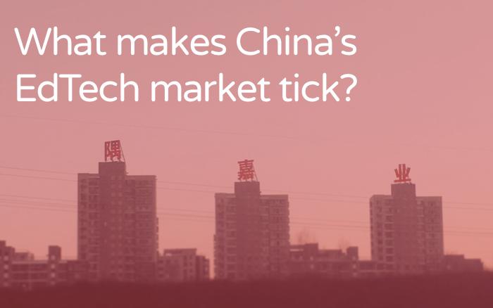 What makes China's EdTech market tick?