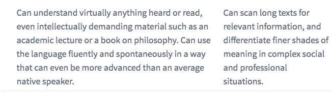Duolingo score explanation