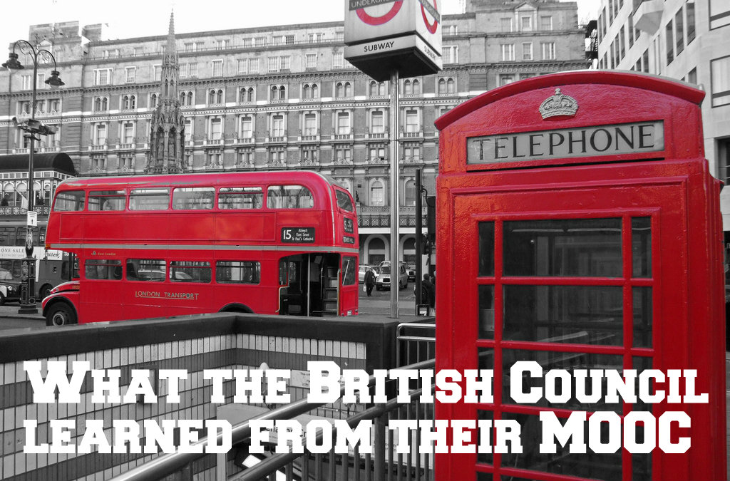 What did the British Council learn from the Exploring English: Language and Culture MOOC?