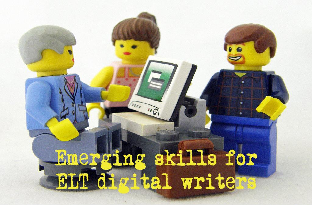 Emerging skills for ELT digital writers