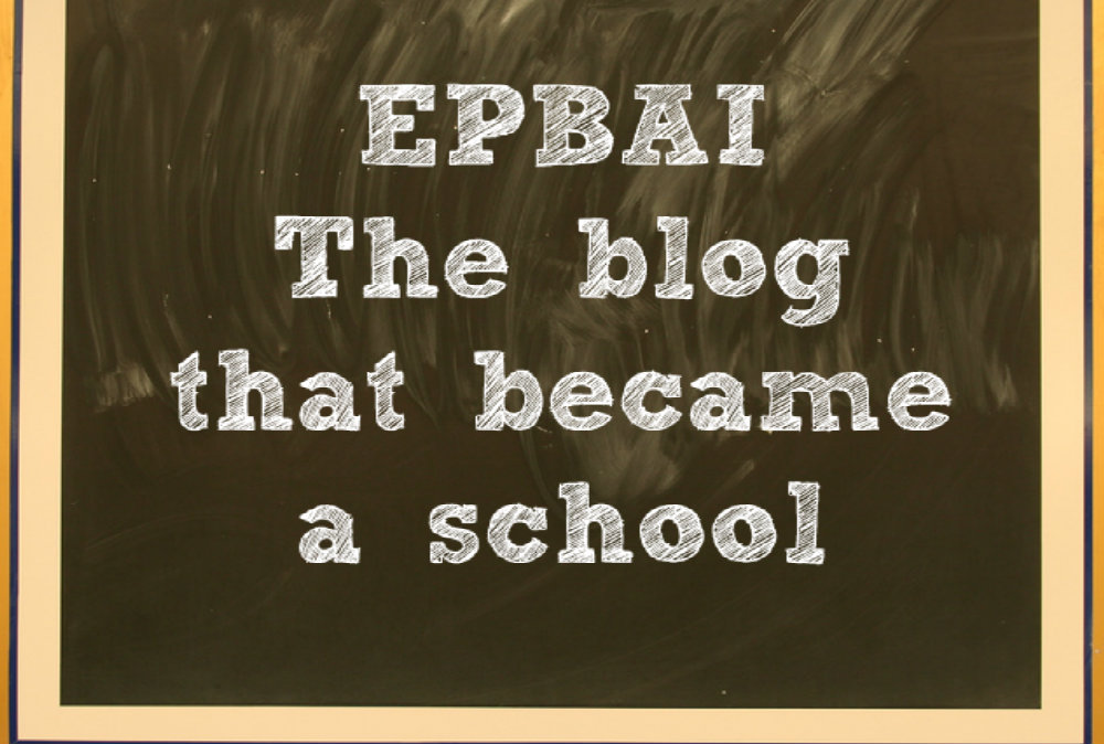 El Blog Para Aprender Inglés – The blog that became a school