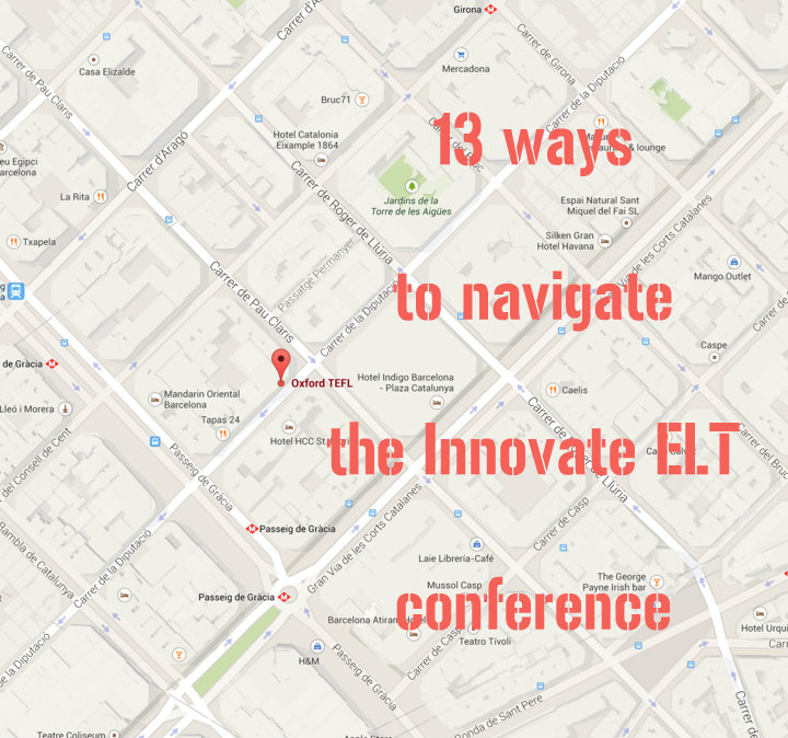 13 ways to navigate the Innovate ELT conference