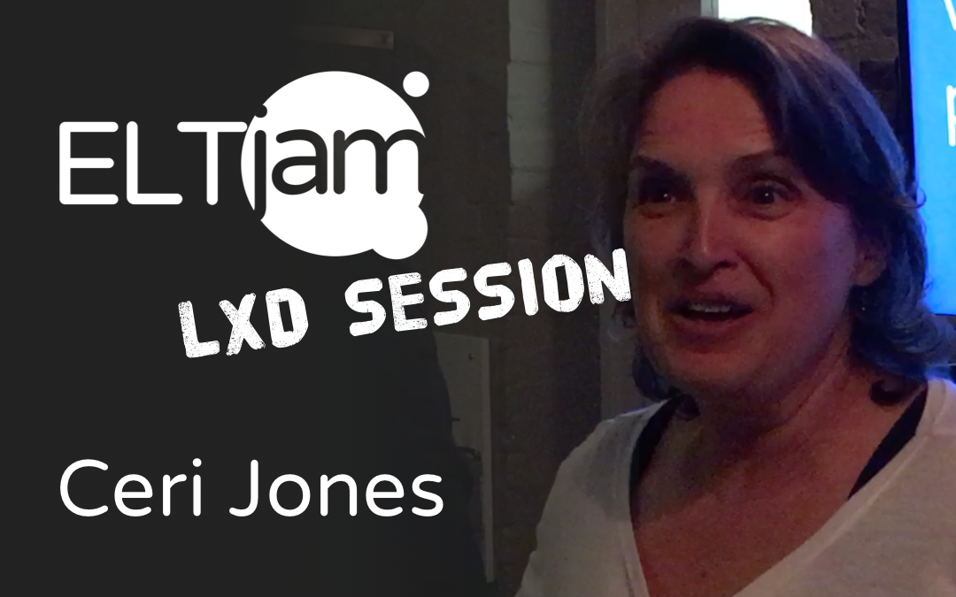 ELTjam LXD Session: Ceri Jones on why we need a 'CoachBot'