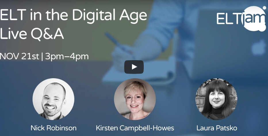 Video: ELT in the digital age Q&A