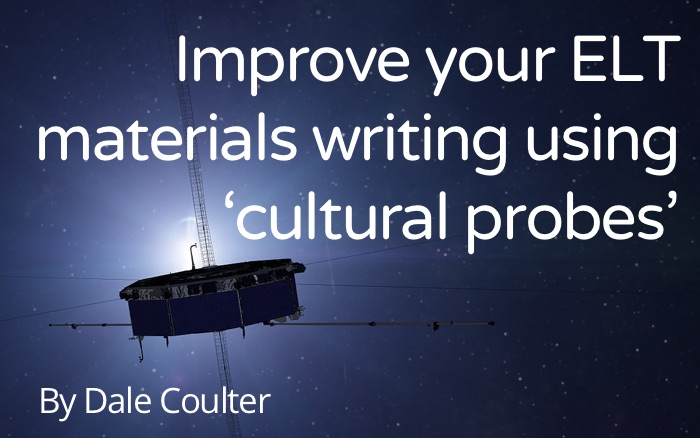 Improve your ELT materials writing using 'cultural probes'