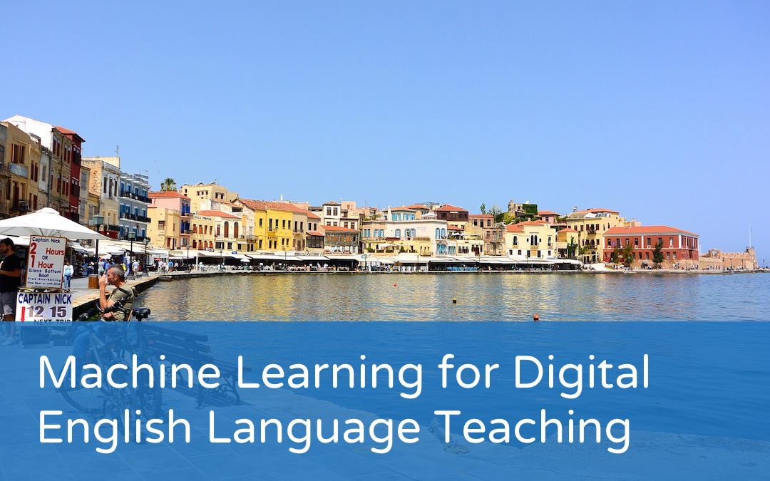 Event: Machine Learning for Digital English Language Teaching