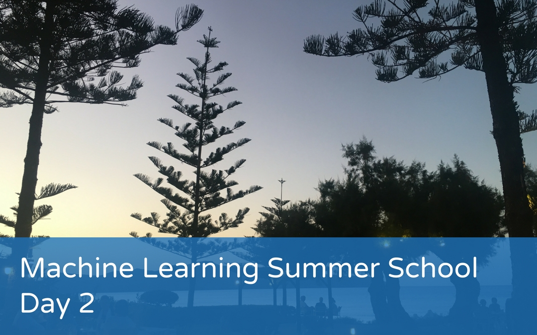 Machine Learning Summer School – Day 2