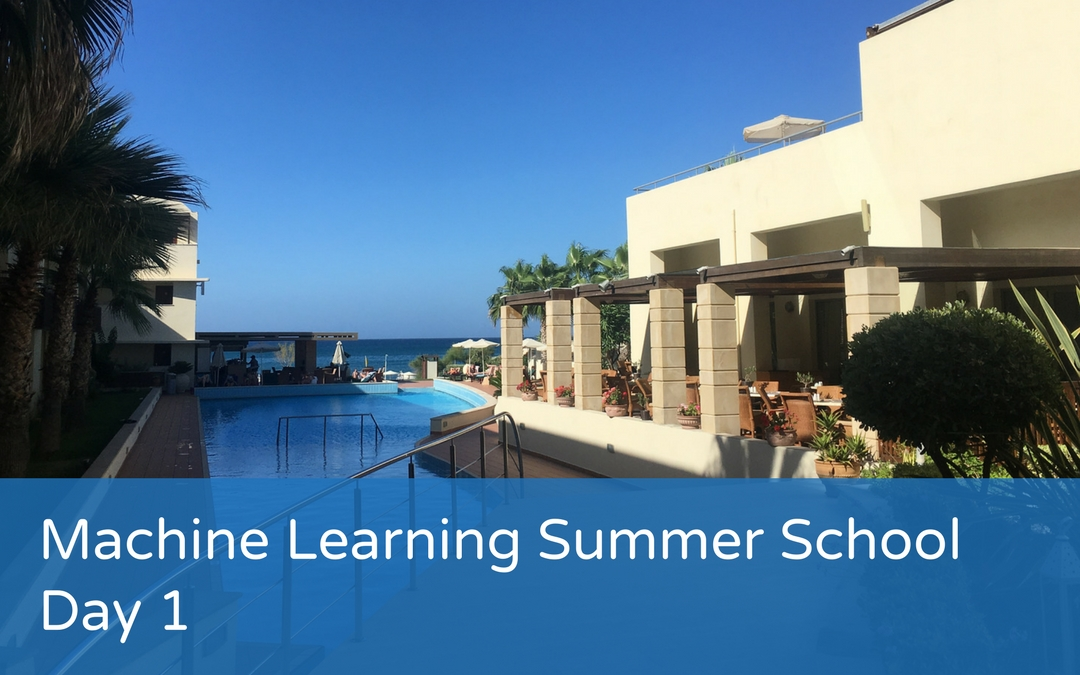 Machine Learning Summer School – Day 1