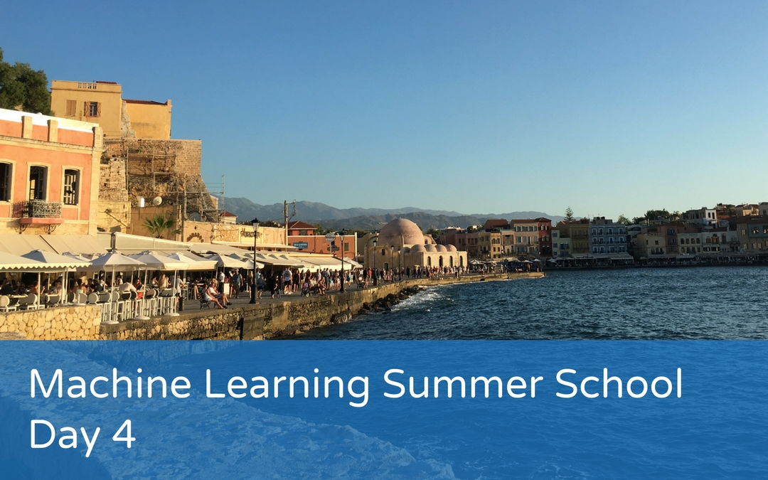 Machine Learning Summer School – Day 4