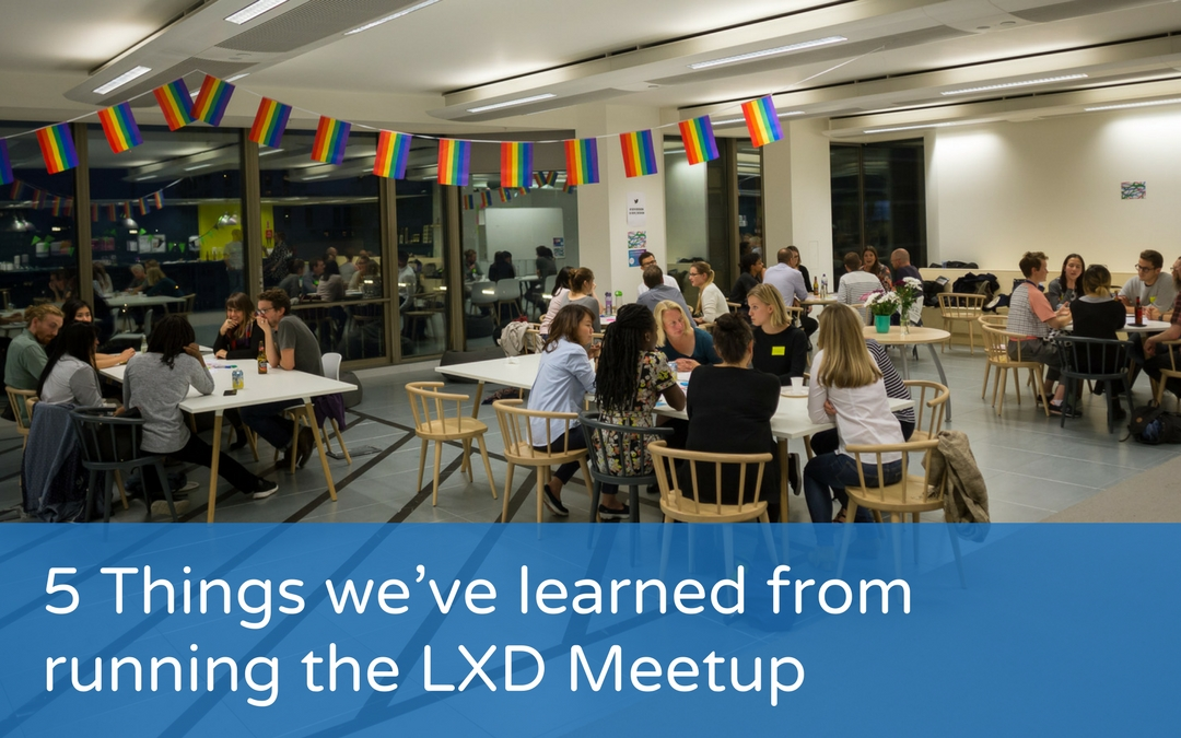 5 Things we've learned from running the LXD Meetup