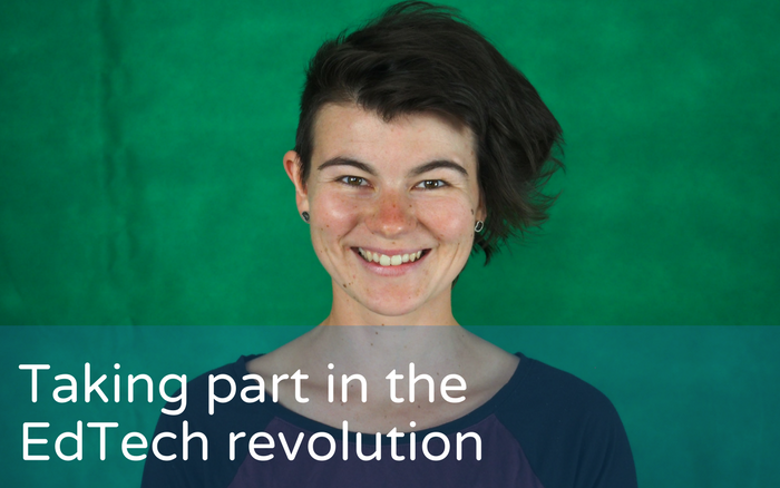 Taking part in the EdTech revolution