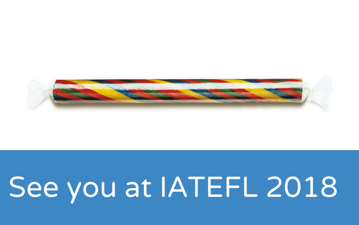 See you at IATEFL 2018 😁