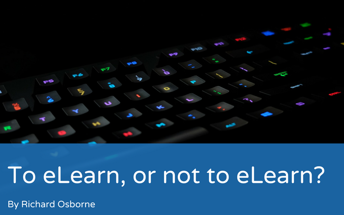 To eLearn, or not to eLearn?