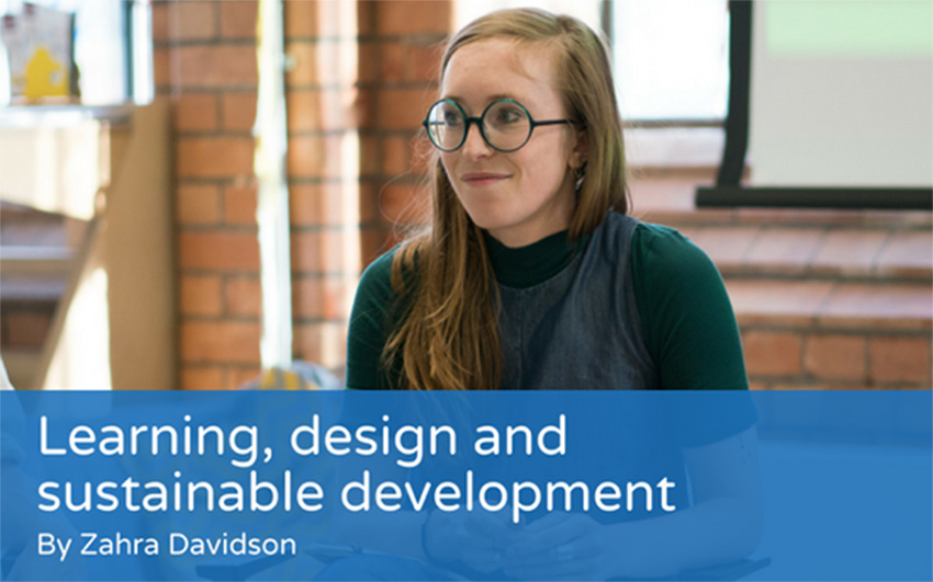 Learning, design and sustainable development