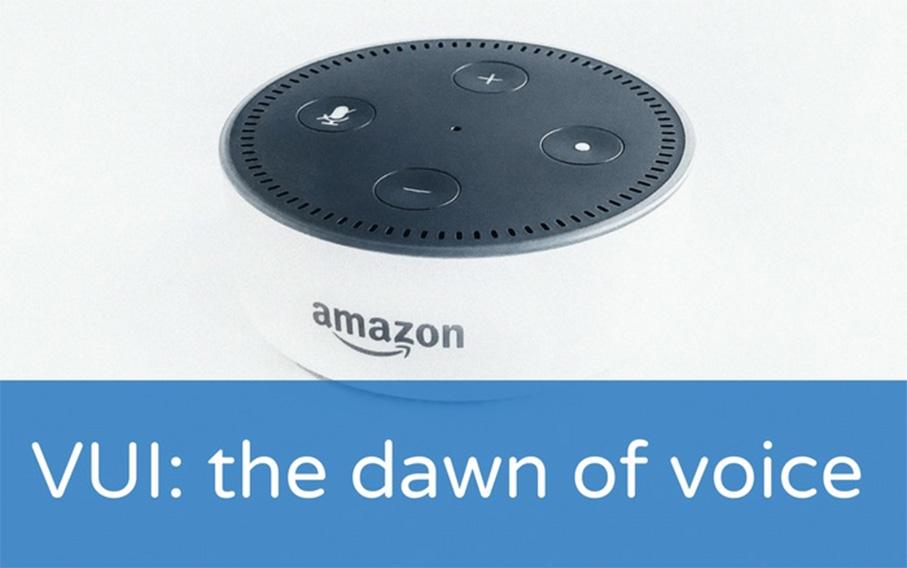 VUI: the dawn of voice