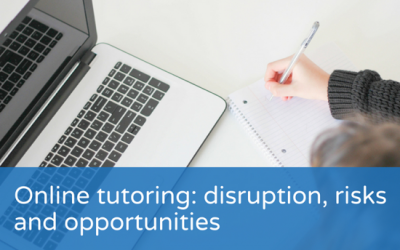Online tutoring: disruption, risks and opportunities