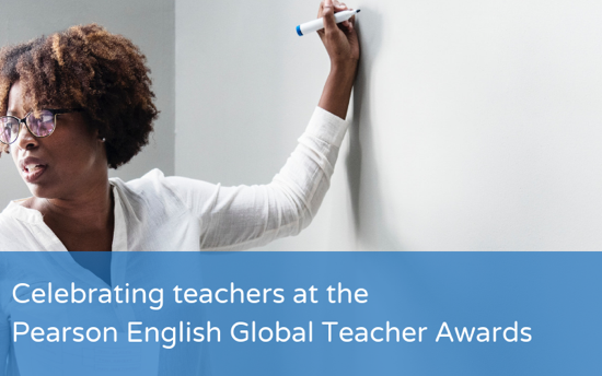 Celebrating teachers at the Pearson English Global Teacher Awards