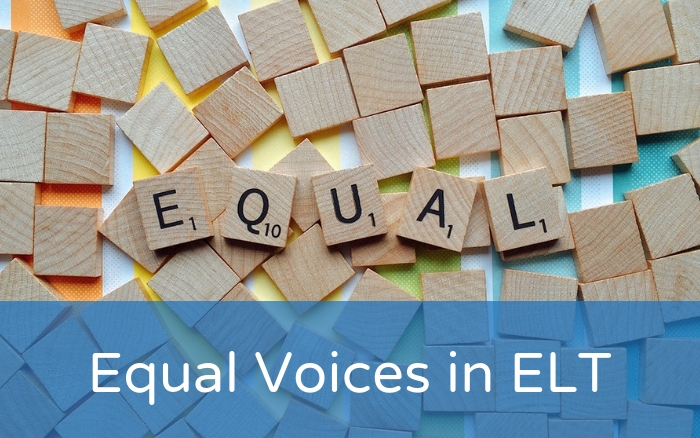 An argument for equal voices in ELT