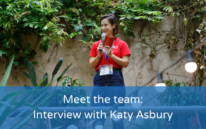 Meet the team: Interview with Katy Asbury